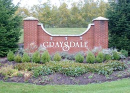 Graysdale Entrance Sign